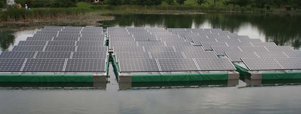 フロート式太陽電池